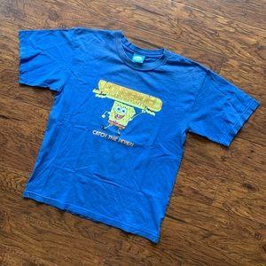Vintage 2000 Spongebob Squarepants T Shirt